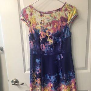 Dress won once to a wedding.